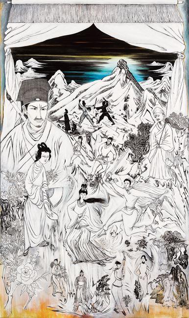 Dajian Shan by Lee Ming-tse contemporary artwork