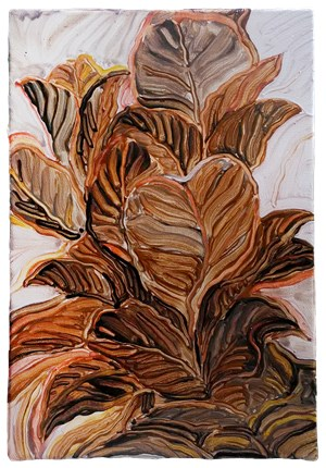 Golden Leaves by Liu Chih-Hung contemporary artwork