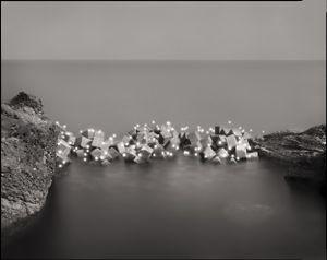 Photo Respiration From the Sea Yura #339 by Tokihiro Sato contemporary artwork