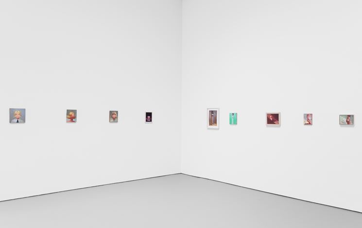 Exhibition view: Lisa Yuskavage, Babie Brood: Small Paintings, 1985–2018, David Zwirner, 19th Street, New York (8 November–15 December 2018). Courtesy the artist and David Zwirner.