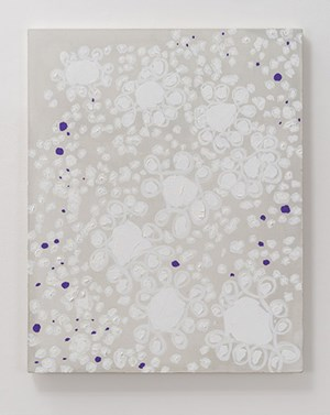 Receptive / Receding Purple OP IV by Natsuyuki Nakanishi contemporary artwork