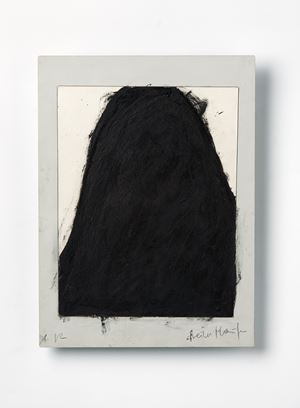 Steiler Haufen by Arnulf Rainer contemporary artwork