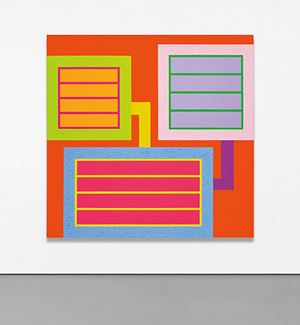 Bright by Peter Halley contemporary artwork