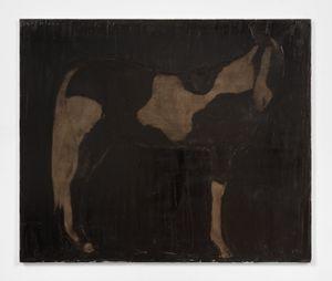 Paintedpony, 1/15/21 by Joe Andoe contemporary artwork painting