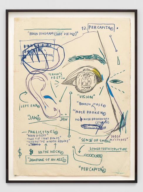 Untitled by Jean-Michel Basquiat contemporary artwork
