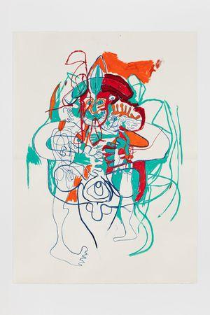 26.12.19.1 by Elliott Hundley contemporary artwork