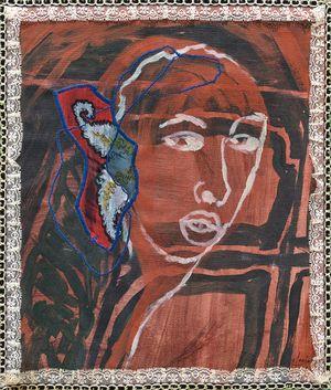 Eavesdrop by Marina Cruz contemporary artwork