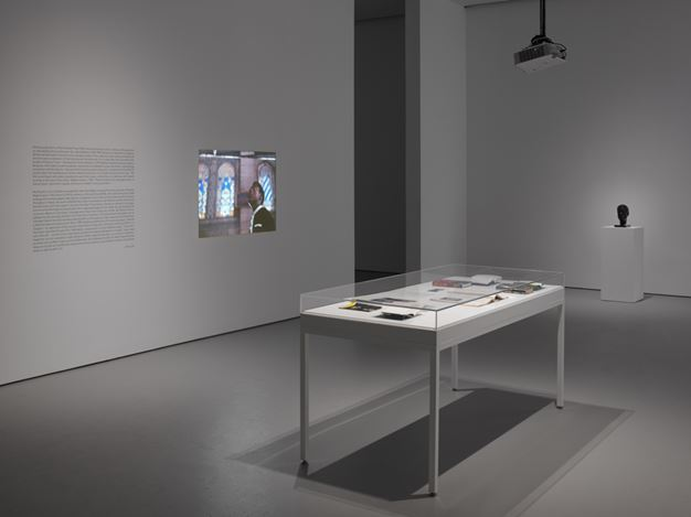 Exhibition view: Group Exhibition, God Made My Face: A Collective Portrait of James Baldwin, Curated by Hilton Als, David Zwirner, 19th Street, New York (10 January–16 February 2019). Courtesy David Zwirner.
