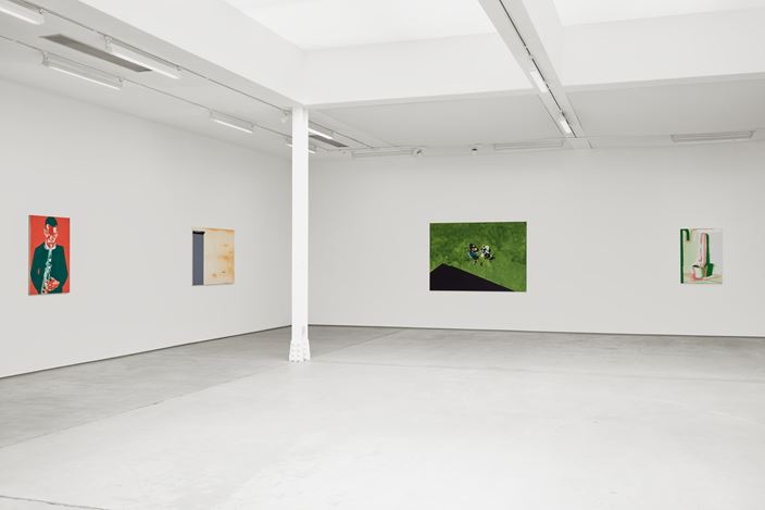 Exhibition view: Wilhelm Sasnal, Sadie Coles HQ, Kingly Street, London (3 September–17 October 2020). © Wilhelm Sasnal. Courtesy Sadie Coles HQ, London.Photo: Robert Glowacki.