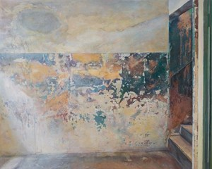 Concentration Camp - Mottled Wall by Lu Liang contemporary artwork