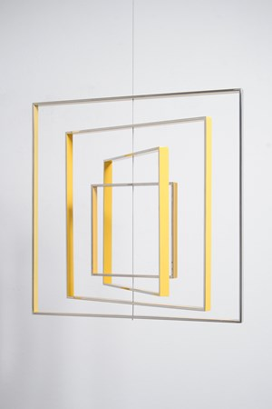 Homage to the Square by Jose Dávila contemporary artwork