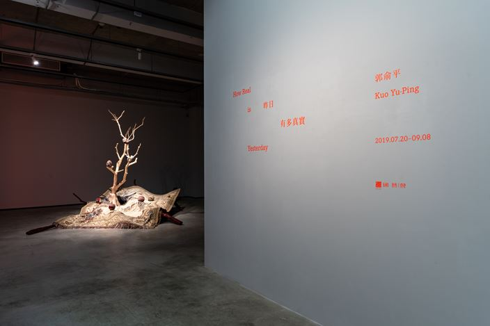Exhibition view: Yu-Ping Kuo, How Real is Yesterday 昨日有多真實, TKG+ Projects, Taipei (20 July–8 September 2019). Courtesy TKG+ Projects.