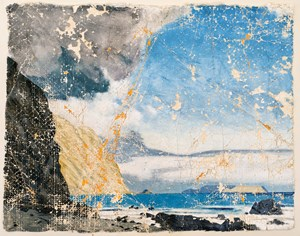 Welch on Cadmium White by Derek Cowie contemporary artwork