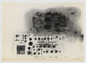 Untitled by Jack Whitten contemporary artwork