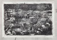 Untitled (Drawing for Wozzeck 68) by William Kentridge contemporary artwork works on paper