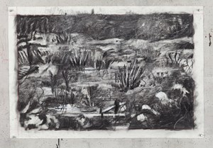 Untitled (Drawing for Wozzeck 68) by William Kentridge contemporary artwork