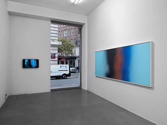 Exhibition view: Hans Hartung, Simon Lee Galley, London (17 January–17 February 2018).© Hans Hartung / ADAGP, Paris 2018. Courtesy Simon Lee Gallery, Perrotin and Hartung-Bergman Foundation.