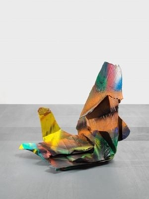 o.T. by Katharina Grosse contemporary artwork sculpture