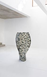 Twilight by Shirazeh Houshiary contemporary artwork sculpture