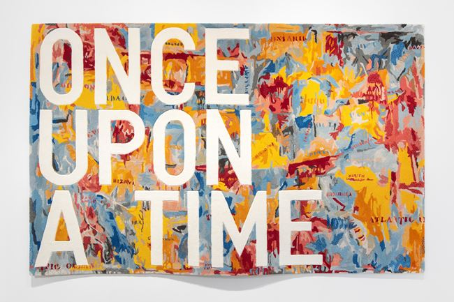 untitled 2020 (once upon a time) (map, 1961) by Rirkrit Tiravanija contemporary artwork