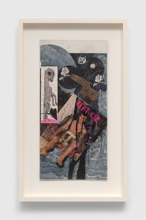 Untitled (Kept Kid) by Ray Johnson contemporary artwork