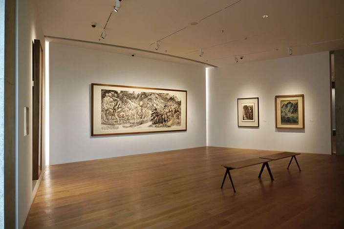 Exhibition view: Group Exhibition, Milieu in Change: He Art Museum Chinese Modern Collection Exhibition, He Art Museum, Guandong (1 October 2020–31 March 2021). Courtesy He Art Museum.