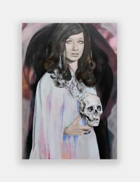Tera, The Queen by Paulina Olowska contemporary artwork painting