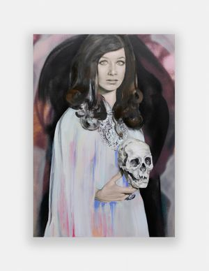 Tera, The Queen by Paulina Olowska contemporary artwork