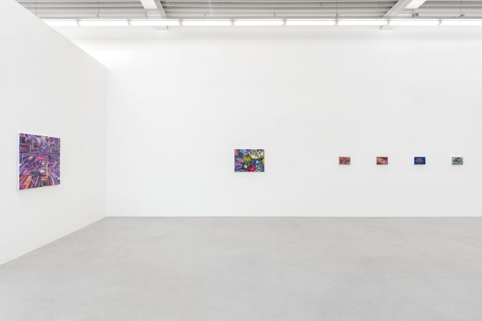 Exhibition view: Huang Yuxing, Heaps of Brocade and Ash 锦灰堆, Almine Rech, Brussels (3 June–31 July 2021). Courtesy Almine Rech.