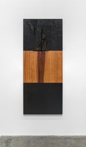 Floor, Wall, Ceiling (Figure) by John Henderson contemporary artwork painting, sculpture