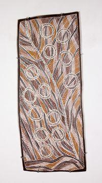 Ḏarwirr by Mulkun Wirrpanda contemporary artwork painting