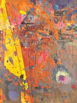 African Landscape IV by Clive Van Den Berg contemporary artwork