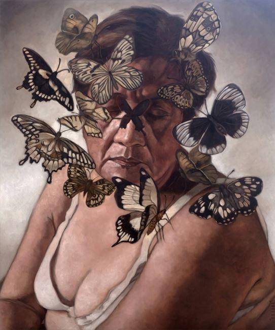 Belonging by Yani Unsana contemporary artwork