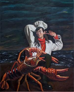 Crayfish 小龙虾 by Qin Qi contemporary artwork