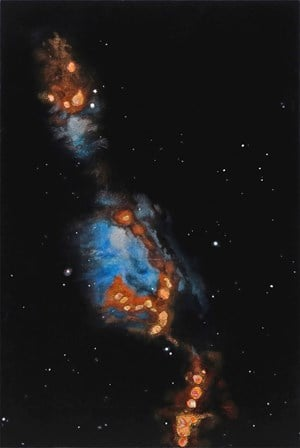 Messier 78     by Hannah Beehre contemporary artwork