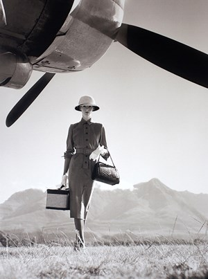 The Art of Travel by Norman Parkinson contemporary artwork