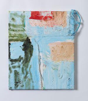 Painted sampler by Teelah George contemporary artwork