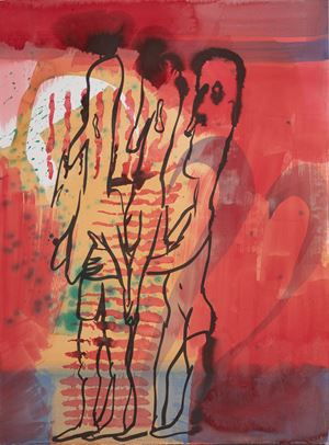 The Three Graces by Camille Henrot contemporary artwork