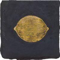 Lemon, 19 January 1989 by Donald Sultan contemporary artwork mixed media